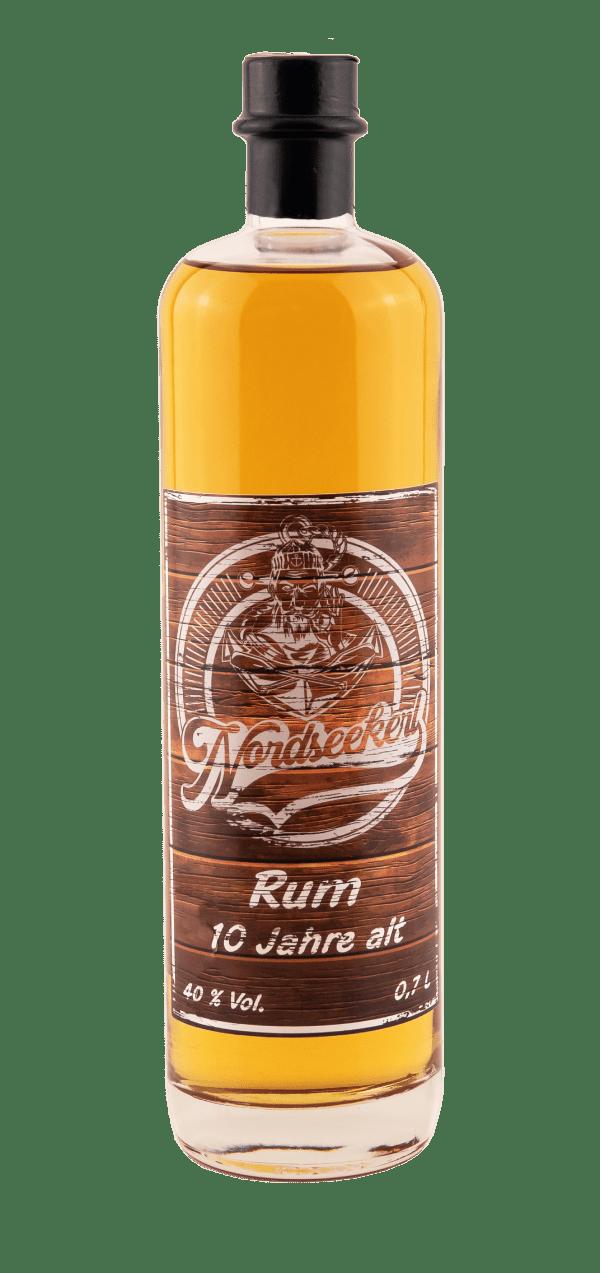 Nordseekerl Rum No. 1 -Produktbild - Flasche mit Rum