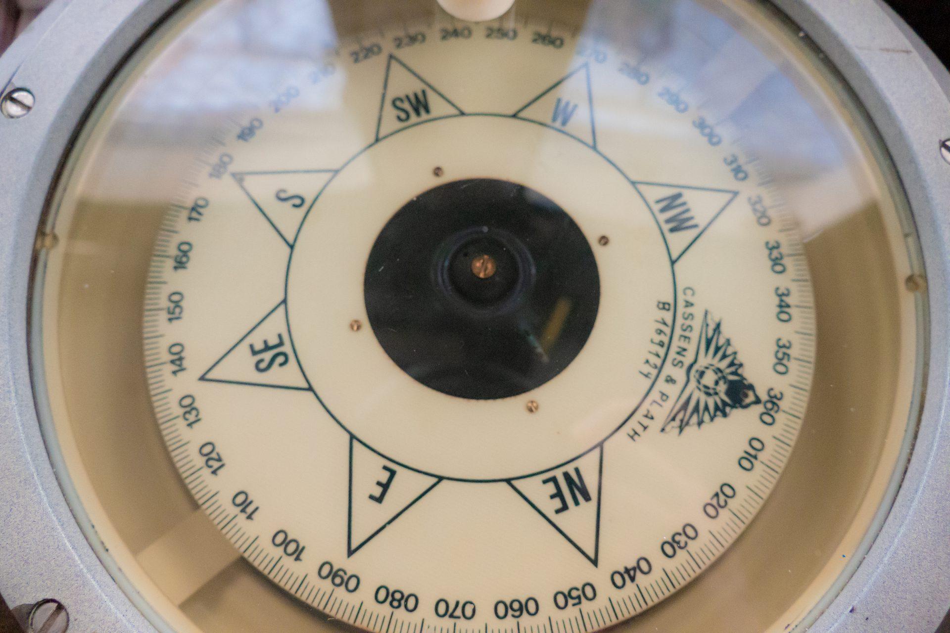 Nordseekerl- Über uns- Schiffskompass